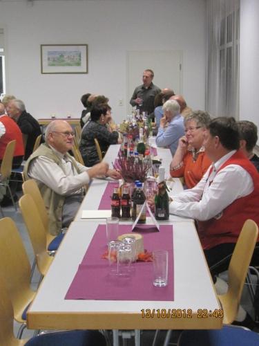 Ehrenabend-Jubiläumsfrühschoppen 2012
