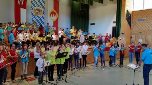 Jugendwettstreit Hobbach (Jugendkapelle)