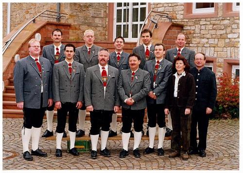2002 - Gruppenbild Vorstandschaft