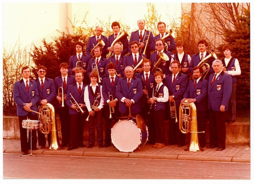 1980 - aktive Blaskapelle