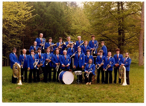 1982 - aktive Blaskapelle