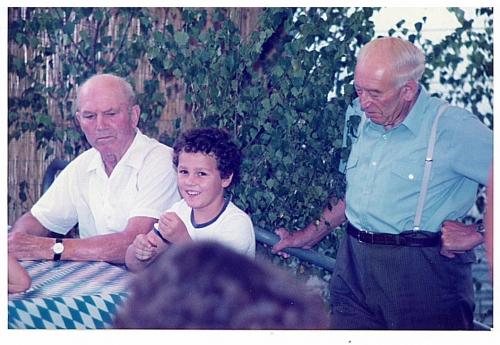 1983 - 1. Gartenfest - Jochen