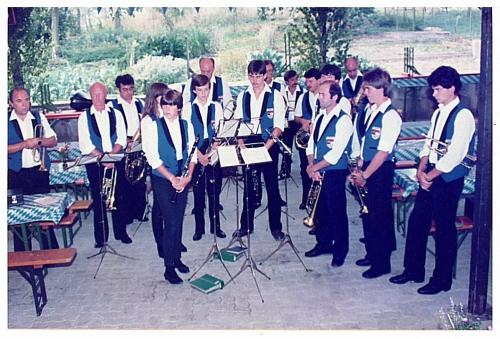 1983 - 1. Gartenfest - Musikverein