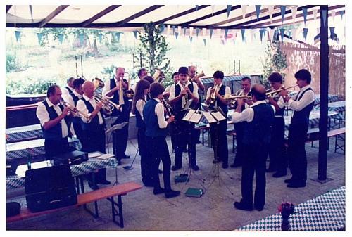 1983 - 1. Gartenfest - Musikverein (2)