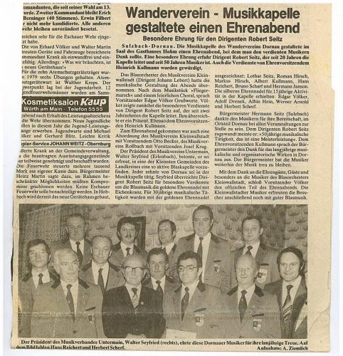 1979 - Ehrung aktiver Musiker