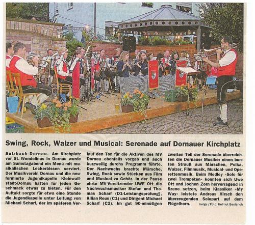 2006 - Serenade am Kirchplatz