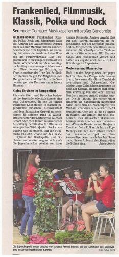 2011-Serenade am Bürgerhaus